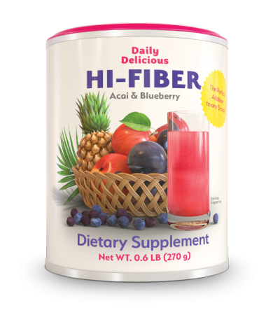 Daily Delicious HI-FIBER Acai & Bluberry